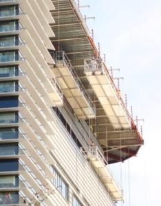 altrex double-deck suspended platform photo