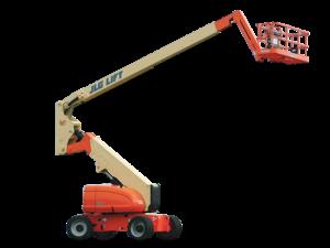 JLG 800AJ articulating boom lift photo