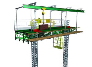 monorail hydro mobile unit