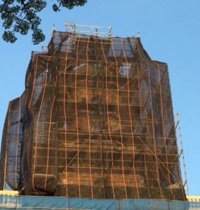 eagle debris netting and scaffold sheeting