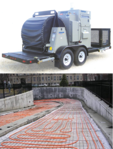 ground thaw concrete cure photo
