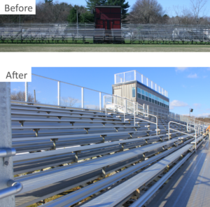 restoration and renovation of seating photo