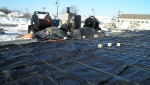 midwest canvas corp. concrete blankets photo