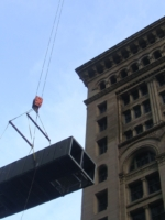 the ames building rigging photo