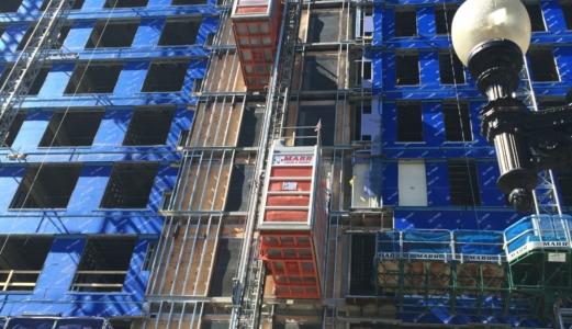 7000 lb construction elevator photo