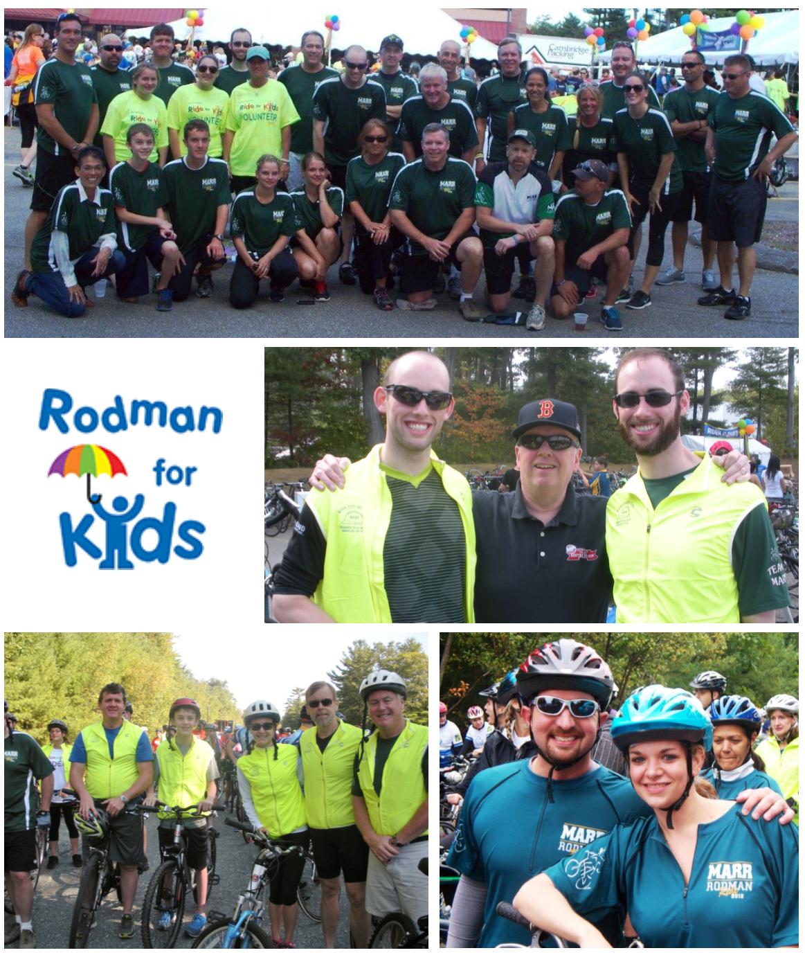 Rodman ride for kids photo collage