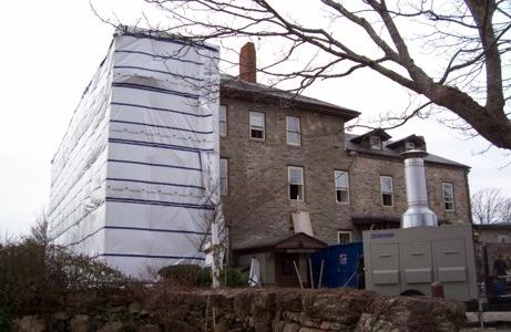 stone house little compton monarflex photo