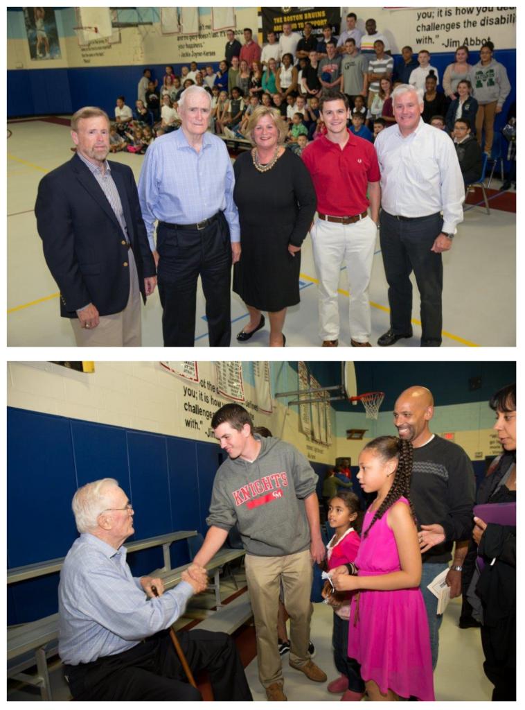scholarship endowment photo collage