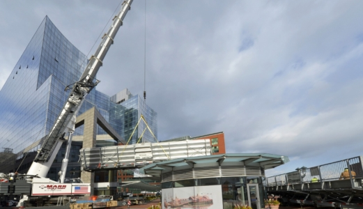 crane and bleachers boston tea party