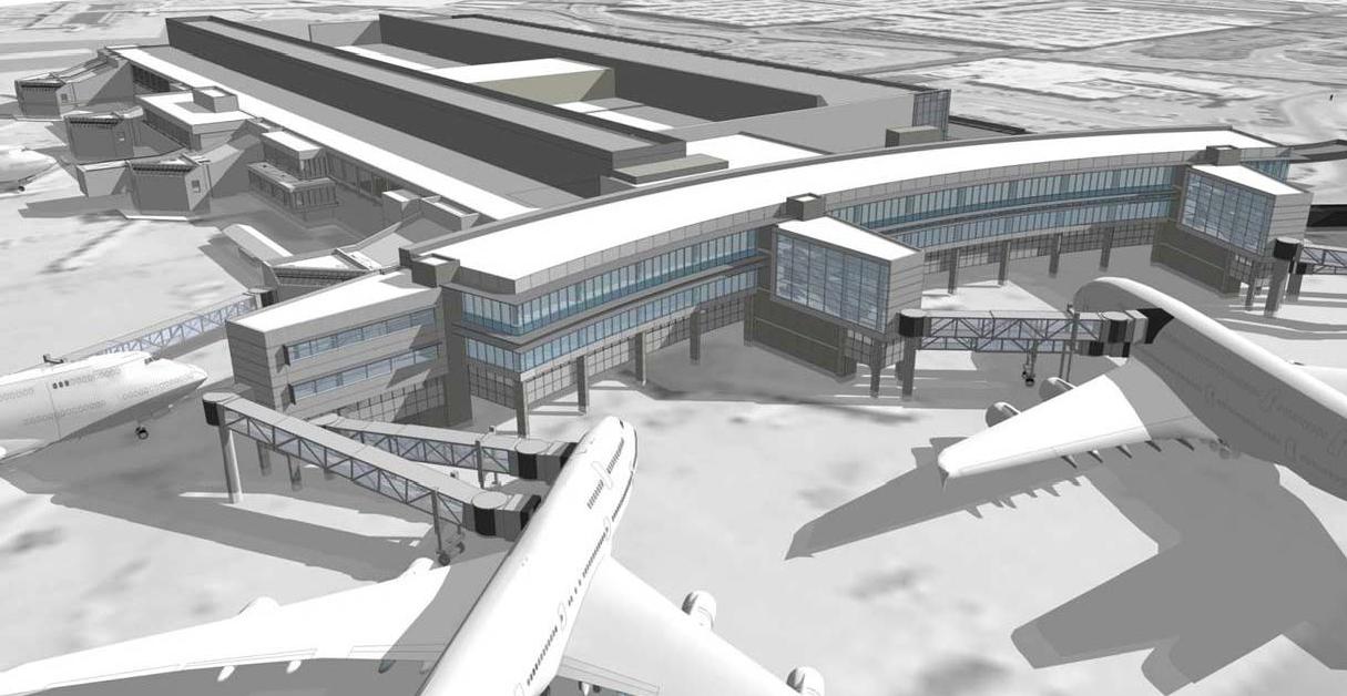 terminal E rendering