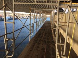 braga bridge scaffold photo