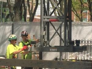 scaffold installation photo