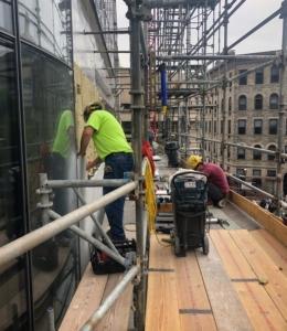 scaffolding at one dalton